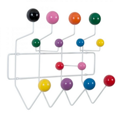 VITRA Hang it all White, multi-coloured - Фото 2