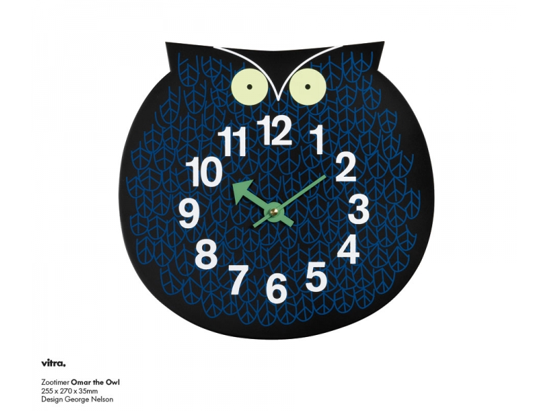 VITRA Omar the Owl wall clock - Фото 1