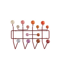 VITRA Hang it all Red, multi-tone