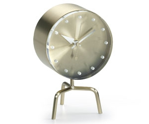 VITRA Tripod Clock brass, acrylic glass - Фото 1