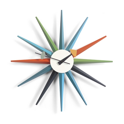 VITRA Sunburst Clock multicoloured - Фото 1