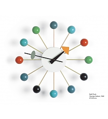 VITRA Ball Clock multicoloured