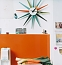 Фото - VITRA Sunburst Clock multicoloured
