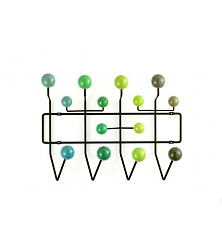 VITRA Hang it all Green, multi-tone
