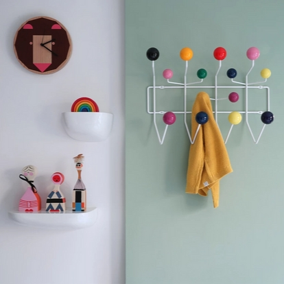 VITRA Hang it all White, multi-coloured - Фото 5