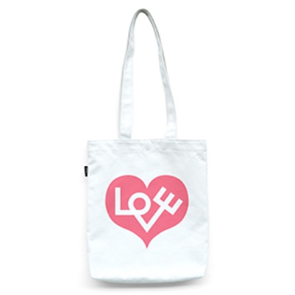VITRA Graphic Bag Love Heart, pink - Фото 1
