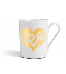 VITRA Mug Love Heart, gold