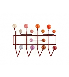 VITRA Hang it all Red multi-tone